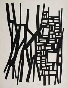 TITLE:  	Structured Form 	ARTIST:  	Harold Krisel (American, 1920–1995) 	WORK DATE:  	1961
