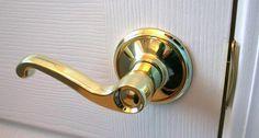 DIY-How to Replace an Interior Doorknob -- via wikiHow.com