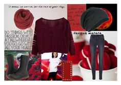 """""""Do Things With Passion"""" by aylacole ❤ liked on Polyvore featuring moda, Frame Denim, KING, Dr. Martens e Valentino"""