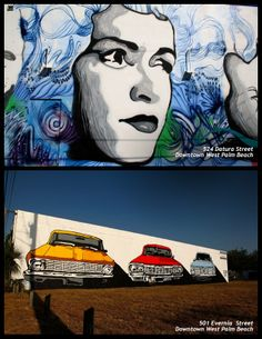 Downtown West Palm Beach - #Art in Public Places in The #PalmBeaches #Florida