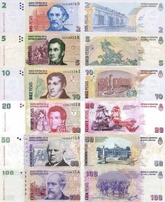Visit Buenos Aires: The Most Complete City Guide by a Local Play Money, Gold Money, Coin Values, Show Me The Money, World Coins, Money Matters, Coin Collecting, Banknote, Gaston