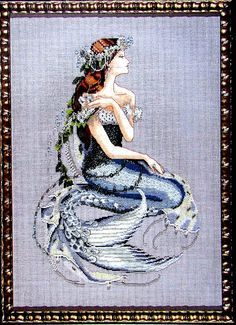 Mirabilia Cross Stitch Pattern. Emerald by MyStitchingGarden