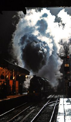 Night train  - steam