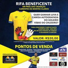 54bc4e7ea6 Goleiro Fábio do Cruzeiro ajuda na Rifa de Natal em Prol da Crianças  Carentes de Montes Claros