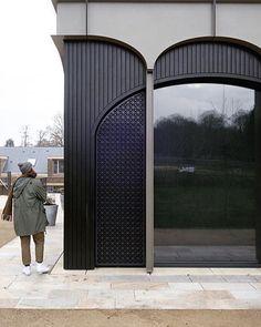 Facade Design, Door Design, Exterior Design, Interior And Exterior, House Design, Building Exterior, Building Facade, Facade Architecture, Contemporary Architecture