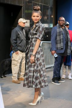 Zendaya Makes a Chic Case for the Revival of Plaid