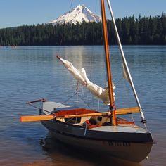 Sailing - Timothy Lake, Mount Hood, Oregon