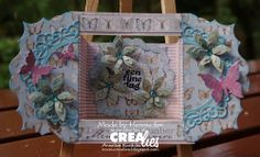 Used Crealies products: http://www.crealies.nl/n1/24063/2014-DT-Creations.htm    Crealies Create A Card no. 4 Set of 3 Flowers no. 3 Set of 3 Butterflies no. 3 Elegant Frames no. 1 Crea-Nest-Lies XXL no. 5