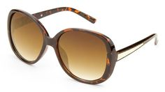 Elegant Oversized Sunglasses - TortoisePlastic frame and arms.Gradient lenses offer 100% UV protection. | Shop this product here: spree.to/an94 | Shop all of our products at http://spreesy.com/Aprilestep    | Pinterest selling powered by Spreesy.com