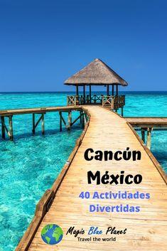 Seguro que no! Aquí hay 40 actividades divertidas para pasarla bien en Cancún. Disfruta algunas de ellas y pasala divino en tus vacaciones!