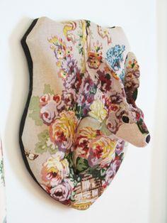 Floral Rabbit Trophy