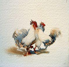 watercolour by Carol Carter