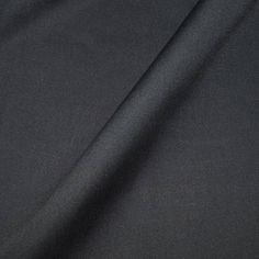 Fabric cotton black 100% cotton Poplin in multiples of