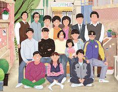 Reply 1988 on Behance Park Bo Gum Wallpaper, Wallpaper Space, Park Bo Gum Reply 1988, Goblin, Funny Webcomics, Dramas, Ryu Jun Yeol, Best Kdrama, Korean Drama Quotes