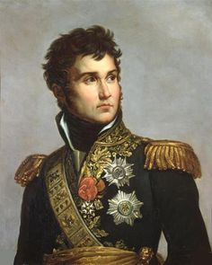 "Jean Lannes, Marshal of France, painting by François Gérard - Jean Lannes, 1st Duc de Montebello (10 April 1769 – 31 May 1809), was a Marshal of the Empire. He was one of Napoleon's most daring and talented generals. Napoleon once commented on Lannes: ""I found him a pygmy and left him a giant"". A personal friend of the emperor, he was allowed to address him with the familiar ""tu"", as opposed to the formal ""vous""."