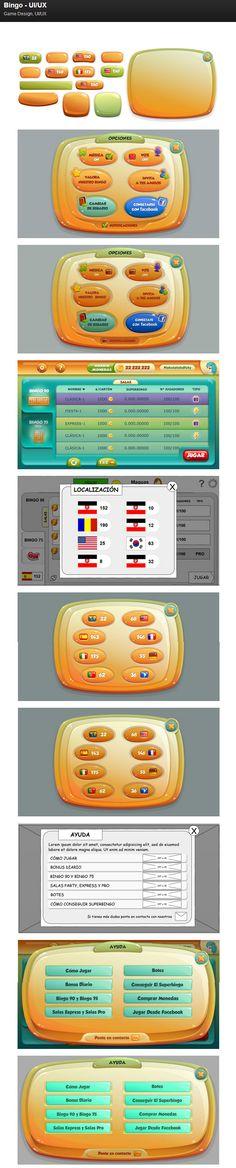 Bingo - UI-UX on Behance
