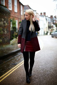Marmalade - British Style Blog: PAISIE TWO TONE #fall