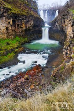White River Falls - John Day Area - Oregon - USA.