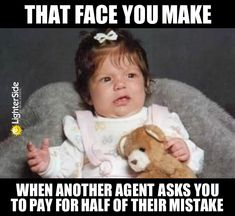 These Babies Sum Up Real Estate Better Than Any Realtor Could Mortgage Quotes, Mortgage Humor, Mortgage Loan Officer, Mortgage Tips, Mortgage Calculator, Real Estate Business, Real Estate Investing, Real Estate Marketing, Real Estate Memes