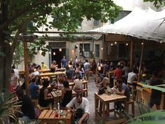 Finishing our trip with a quick beer at the hip six d.s : packed with Athenians all day/all night + an entertainment centre that combines a Gig Space, a Project Space, a Bar, a Foyer, and a Garden. Cultural Center, Live Music, Athens, Outdoor Spaces, Night Life, Travel Photos, Centre, Travel Photography, Art Exhibitions