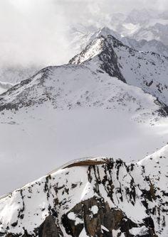 Mountain Peak Platform Top of Tyrol