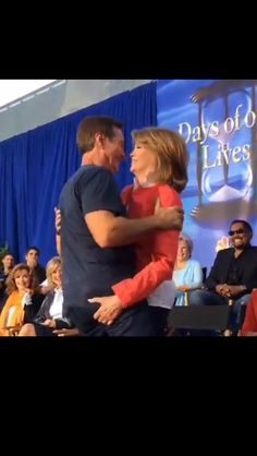 Deidre Hall & Drake Hogestyn, Days of our Lives, Day of Days Drake Hogestyn, Deidre Hall, Days Of Our Lives, 1980s, Evans, Roman, Opera, All About Time, Tv Shows