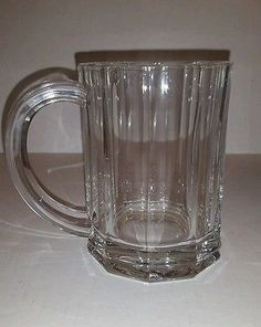 Beautiful SET OF (2) TIFFANY & CO. CRYSTAL Beer Mugs 16 oz  RETIRED in Pottery & Glass, Glass, Art Glass, North American, Tiffany | eBay