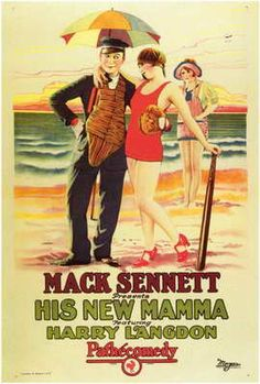 Theatrical poster for the 1924 silent film His New Mama.