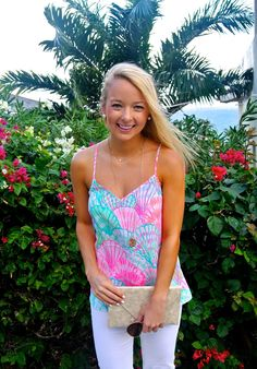 Oh Shello from Antigua // Lilly Pulitzer // www.amybelievesinpink.com