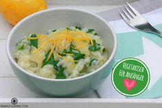 Vegetarisch für Anfänger – Zitronen-Risotto mit Spinat
