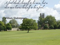 Happy #AprilFoolsDay #quote by William Shakespeare for some throwback fun :P
