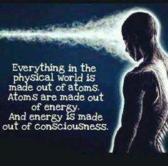 Quantum physics, thoughts are energy Spiritual Awakening, Spiritual Quotes, Quotes Positive, Positive Affirmations, Positive Thoughts, Strong Quotes, Was Ist Reiki, Stage Yoga, Yoga Lyon