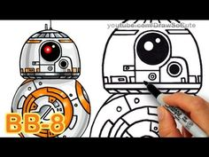 How to Draw Star Wars Princess Leia Cute step by step Easy - YouTube