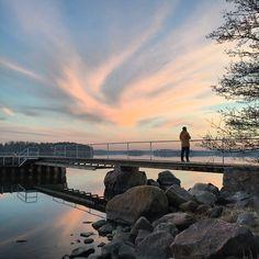#Ramsinniemi #Helsinki #Finland #sunset #reflection #BalticSea