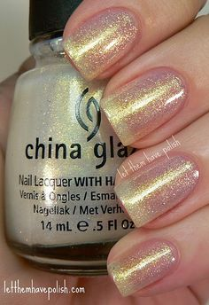 China Glaze White Cap Nail Polish