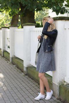Kasia Tusk i dzianinowa sukienka na jesień - Moda