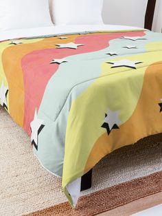 """VSCO Star Pattern"" Comforter by ind3finite | Redbubble"