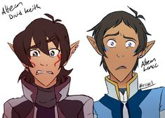 Altean Keith and Lance