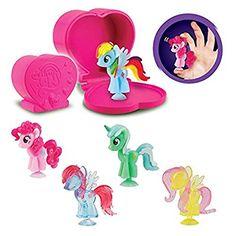 Squishy Pops My Little Pony Figure (Pack of 5) - fits MLP Ferris Wheel