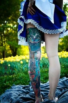Alice in Wonderland. I can't.tell you enough how I love this and would do it tomorrow if I could spare the money.