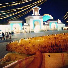 Mazorca de maíz. Panocha