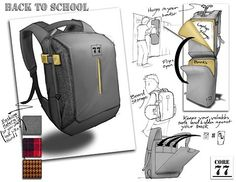One Hour Design Challenge: Reinvent the Backpack