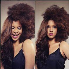 pelo afro alisado- Cómo alisar el pelo afro utlizando planchas