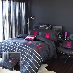 Adairs - Bedroom - Quilt Covers & Coverlets - Mansion Collection by Playboy - Bright Lights