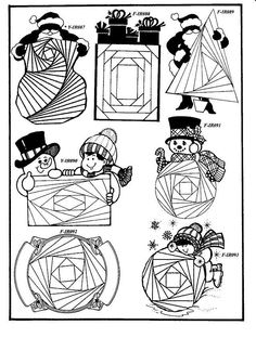 NEW Iris Folding Rubber Stamps Pg 14- Discount