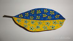 Chita - pintura sobre folha seca