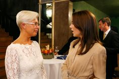 On September 15, Princess Mary attended a reception in honor of WHO conference of the European WHO office in Copenhagen.
