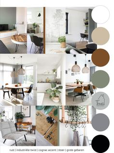 Un salón de Moodboard duro – Interior paint colors for living room House Color Schemes Interior, Interior Paint Colors For Living Room, Home Interior Design, Living Room Decor, Moodboard Interior Design, House Colors, Colorful Interiors, Home Decor, Design Color