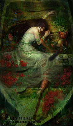 逝 byLiN寜~ the dreams of a mermaid.