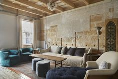 Casa Fanny | Quintana Partners Decoracion Vintage Chic, Spanish Style, Showroom, Inspiration, Couch, Living Room, Table, Furniture, Home Decor